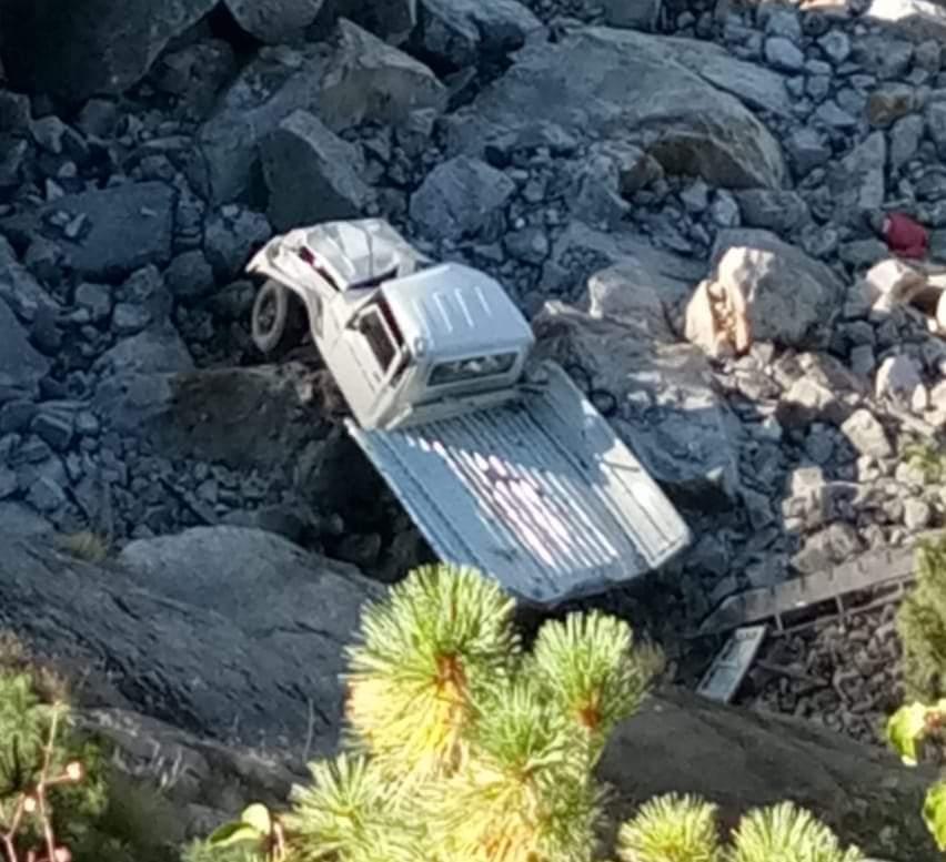 किन्नौर :सांगला- छितकुल मार्ग सुशांग के समीप पिकअप दुर्घटनाग्रस्त 2 युवको की मौत