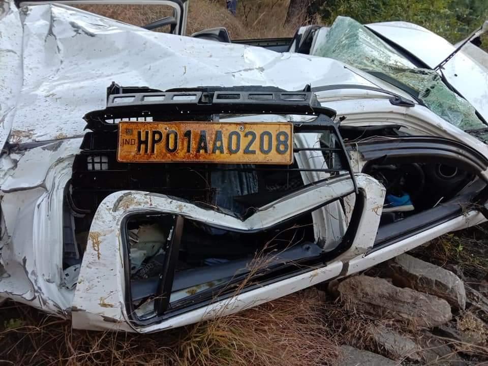 शिमला: दर्दनाक सड़क हादसा दो बहनों की मौत,2 अन्य घायल