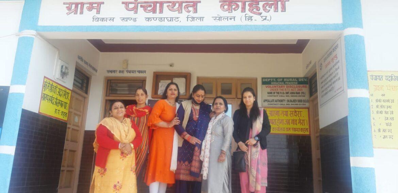 सोशल वेलफेयर सोसायटी फॉर वूमेन हिमाचल प्रदेश द्वारा नशा निवारण कैंप का आयोजन किया गया