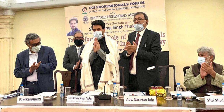 मोदी सरकार के ऐतिहासिक रिफॉर्मस् ने भारत को बनाया इन्वेस्टमेंट हैवेन:अनुराग ठाकुर