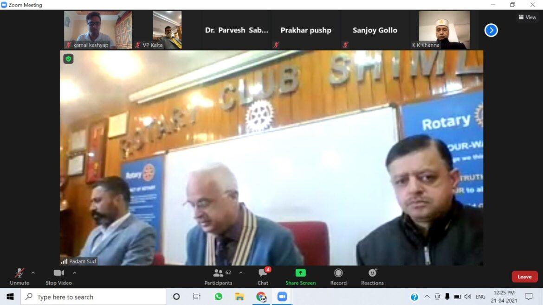 नेतृत्व, शिक्षा, राष्ट्रसेवा व समाज सेवा में रोट्रेक्ट क्लब मददगार, एपीजी शिमला विश्वविद्यालय ने रखी रोट्रेक्ट क्लब की नींव
