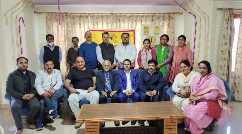 पूर्व मंत्री रूप दास कश्यप  बने शिमला निजी स्कूल संघ के अध्यक्ष, वीएन शर्मा महासचिव
